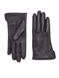 Rag And Bone Stella Leather Gloves Navy
