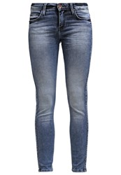 Lee Scarlett Low Skinny Slim Fit Jeans Blue Vapour Moon Washed