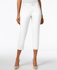 Tommy Hilfiger Double Cloth Cropped Pants