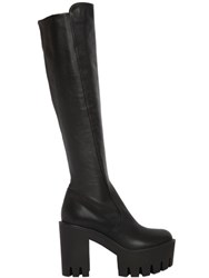 Strategia 100Mm Leather Boots