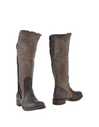 Nylo Boots Dark Brown