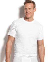 Hanes Men's Crew Neck T Shirts 5 Pack 1 Extra T Shirt