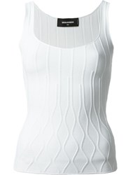 Dsquared2 Sleeveless Top White