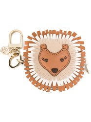 Tory Burch Lion Keyring Multicolour