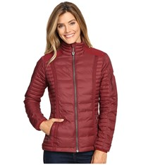 Kuhl Spyfire Jacket Cranberry Women's Coat Red