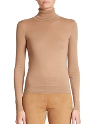 Ralph Lauren Cashmere Turtleneck Sweater Camel