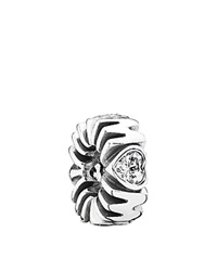Pandora Design Pandora Charm Sterling Silver And Cubic Zirconia Mother's Pride Moments Collection