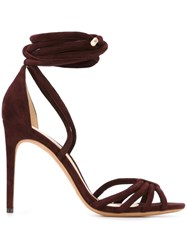 Alexandre Birman Strappy Sandals Red