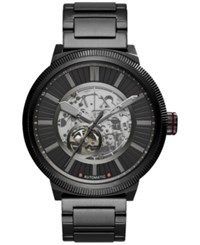 Armani Exchange Ax Men's Automatic Atlc Black Stainless Steel Bracelet Watch 49Mm Ax1416