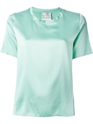 Forte Forte Silk T Shirt Green