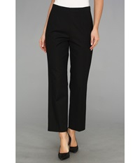 Nic Zoe The Chloe Perfect Pant Side Zip Ankle Black Onyx Women's Casual Pants