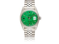 Vintage Watch Women's Oyster Perpetual Datejust Green