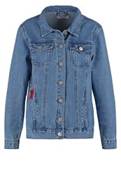 Glamorous Denim Jacket Lightblue Stone Denim