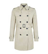 Sandro Magnetic Trench Coat Male Camel