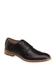 Johnston And Murphy Conrad Wingtip Oxfords Black