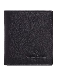 Simon Carter Coin Pocket Wallet Black