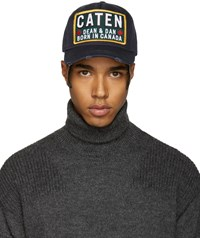 Dsquared2 Navy Born In Canada Cap