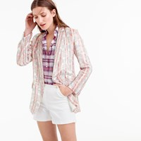 J.Crew Collection Patterned Sequin Blazer