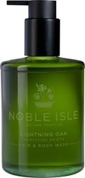 Noble Isle Lightning Oak Hair And Body Wash Colorless