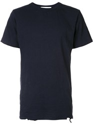 The Squad Long Length Short Sleeve T Shirt Blue