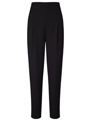 Alice By Temperley Somerset By Alice Temperley High Waist Tapered Trousers Black