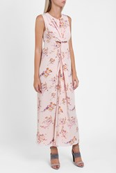 Sies Marjan Figure 8 Floral Twist Dress Multi