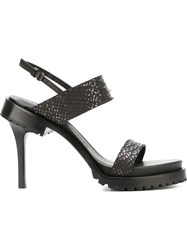 A.F.Vandevorst Stiletto Sandals Black