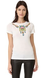 Boutique Moschino Short Sleeve Top White