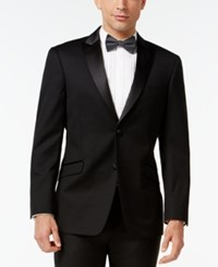 Tommy Hilfiger Peak Lapel Trim Fit Tuxedo Jacket