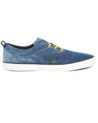 Jack And Jones Tie And Dye Royal Blue Low Top Sneakers