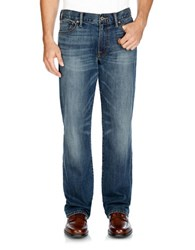 Lucky Brand Vintage Straight Leg Jeans Arched Rock
