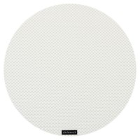 Chilewich Basketweave Round Placemat White