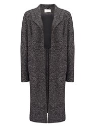 Jacques Vert Edge To Edge Textured Coat Grey