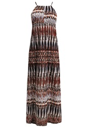 Anna Field Maxi Dress Brown Dark Red