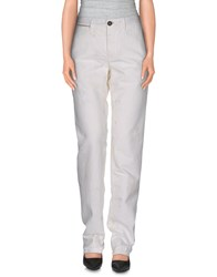 Incotex Red Trousers Casual Trousers Women White