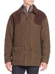 Barbour Fulmar Quilted Jacket Dark Olive