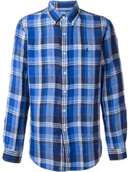 Polo Ralph Lauren Plaid Shirt Blue