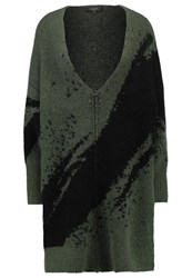 Selected Femme Sfarin Cardigan Thyme Dark Green