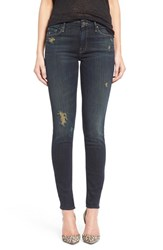 Women's Mother Destroyed Skinny Jeans Jaded And Torn