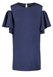 Sister Jane Lapis Summer Dress Dark Blue