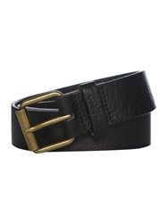 Barbour Casual Leather Belt Black