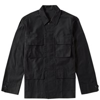 Sophnet. Military 4 Pocket Shirt Black