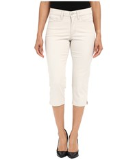 Nydj Petite Petite Ariel Crop In Clay Clay Women's Jeans Tan