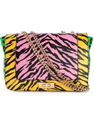 Moschino Cheap And Chic Contrast Animal Print Tote Multicolour