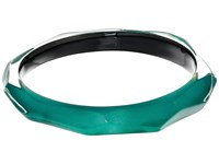Alexis Bittar Faceted Bangle Bracelet Jungle Green