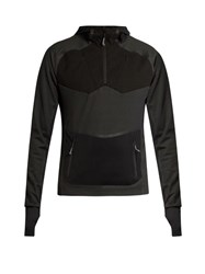 7L Thermal Hooded Mid Layer Top Black