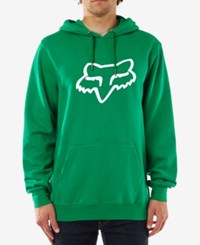 Fox Legacy Fleece Hoodie Green