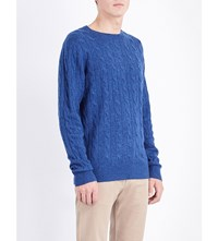 Tommy Hilfiger Crewneck Wool Blend Jumper Nocturnal Htr