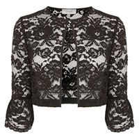 Coast Matara Lace Jacket Black