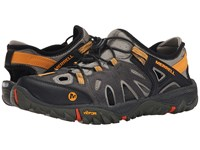 Merrell All Out Blaze Sieve Grey Men's Shoes Gray